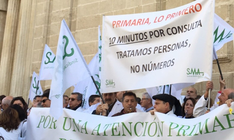 Pictures of protests referenced by Serafín Romero in his article.